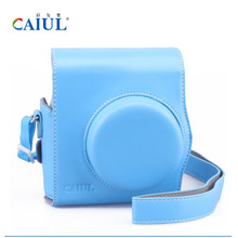 Fujifilm Instax mini 8 camera bag, blue retro style