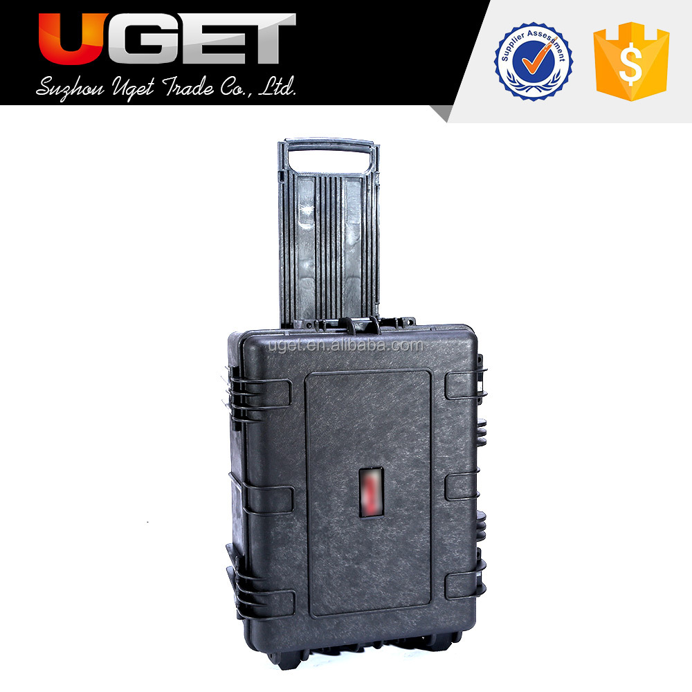 OEM & ODM waterproof hard plastic carrying tool case with handle