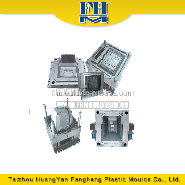 plastic injection TV mold manufacturing tv parts mould