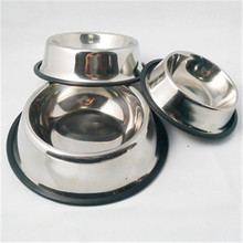 Wholesale Fixable Dog Bowl Stainless Steel Pet Bowl Hanging Food Bowl For Dogs