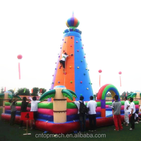 2017 trending products amusement park equipment climing wall/ rock climbing wall