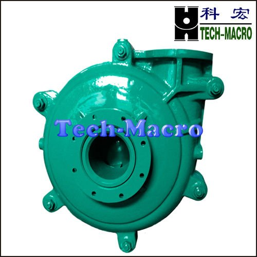 Volcanic ash slurry pump for ming mine pumping