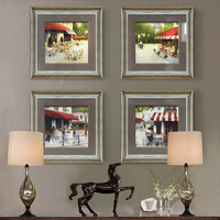 Glass Wall Mount Picture Frames Laminated Painting Photo Picture Frame