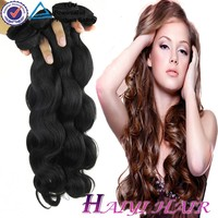 unprocessed raw brazilian Unprocessed Virgin Human Hair for Black