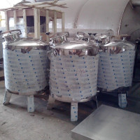 Stainless steel sintex water tank