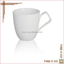 Diamond ceramic coffee cup in hand