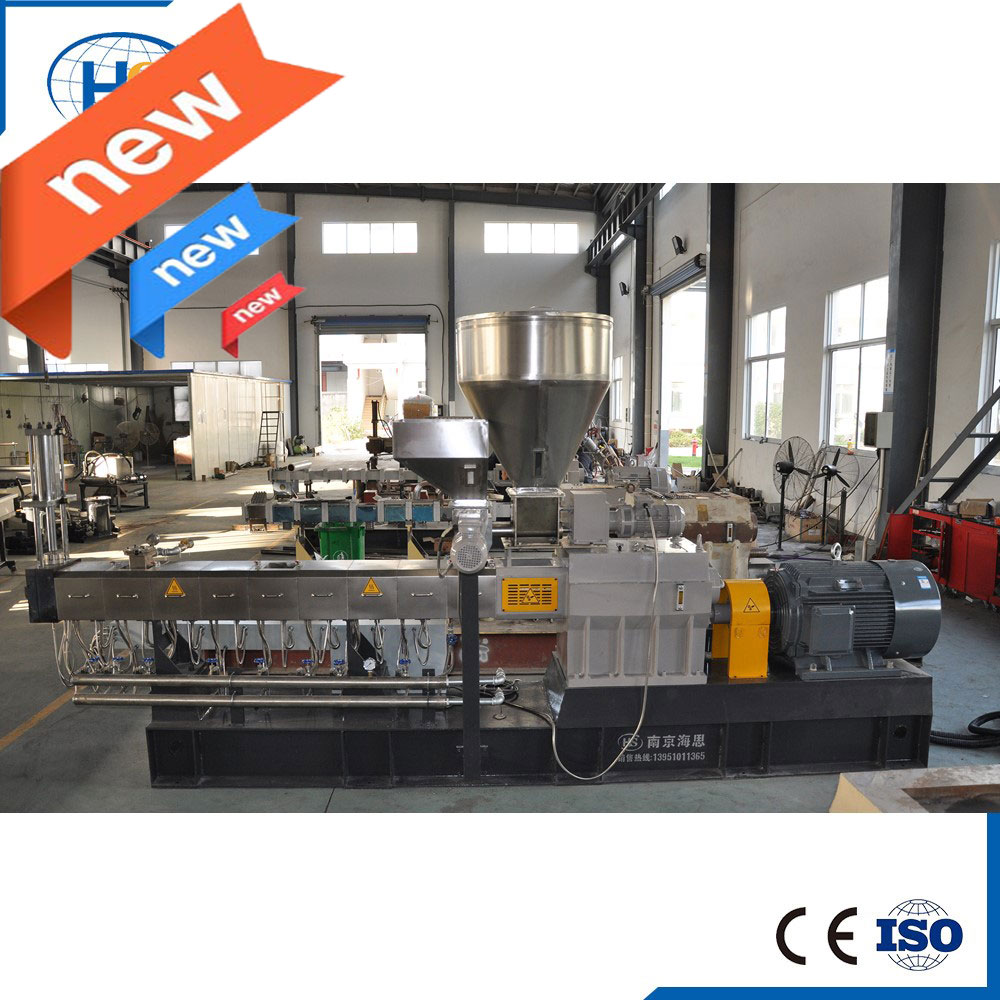 Recycle Led Plastic Granules Making machine With Air Cooling Line