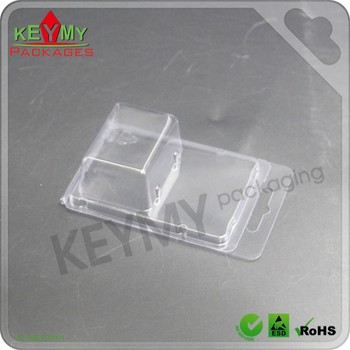 non-toxic custom clam shell packaging with Rohs certifications in Shenzhen