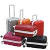 Factory Supply suitcase with 4 spinner wheels Carry on Luggage bag ABS travel luggage Sets