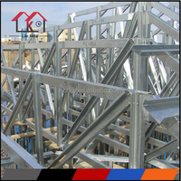 Galvanized steel truss for house metal frame
