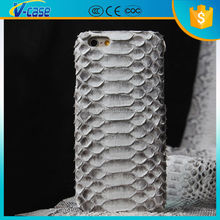 Luxury quality real python skin genuine python leather case for iphone 6