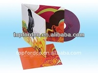 cd dvd disc copy duplication printing with cardboard sleeve