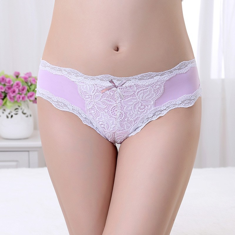 Low Waist V Shape Lace Underwear Women Briefs Different Types Of Girls Underwear