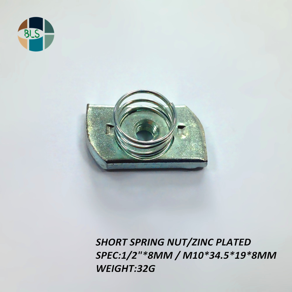 <strong>M10</strong>*8mm Channel <strong>Nut</strong> for Unistrut Channel