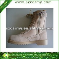 Cheap leather boots/ suede leather military boots/ desert tactical boots