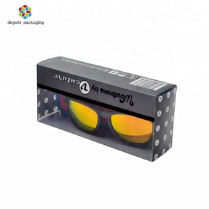 High quality Clear pvc hard plastic packaging box for sunglasses