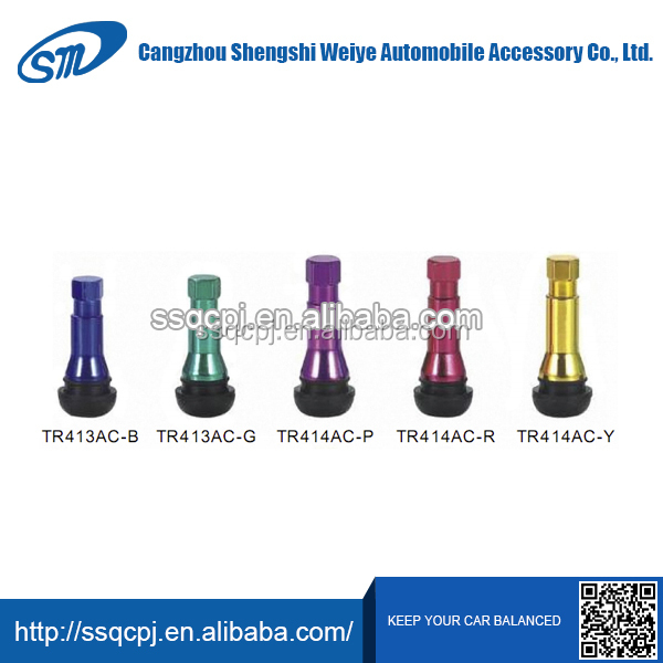 China products high quality motorcycle tire valve