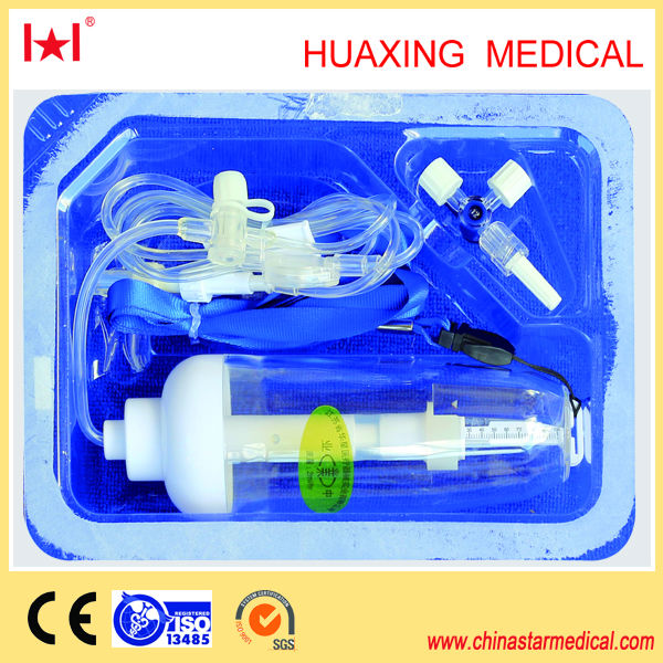 disposable high pressure infusion pump 300ml