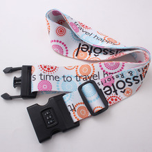Wholesale sublimation printing cheap custom colorful luggage belt