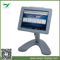 Desktop display case security tablet counter stand