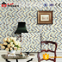 new pattern grade AAA 12x12 ice crackle glass mosaic tile