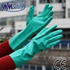 NMSAFETY long nitrile safety industrial gloves for chemical protection