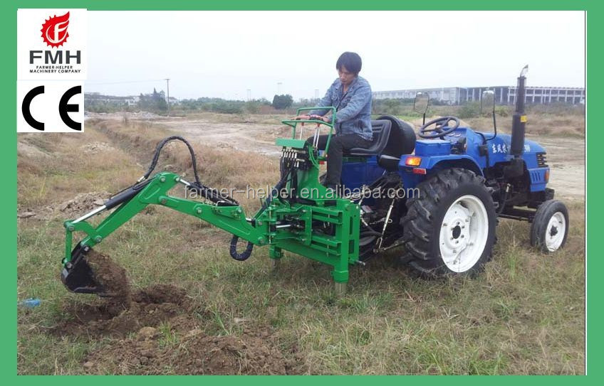 3 Point Tractor Broke : Ce farm tractor garden point backhoe attachment for