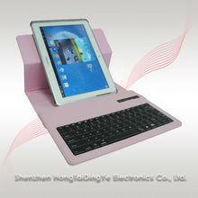 Rotatable leather case Bluetooth keyboard for samsung galaxy N8000