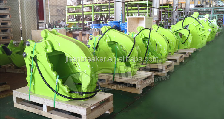 Excavator Hydraulic Gripper Bucket Grapple Bucket Clamp