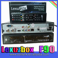 Original Lexuzbox F90 Hd Digital Satellite Tv Receiver For Brazil Internet Protocol Television Providers Cable Tv Set Top Box
