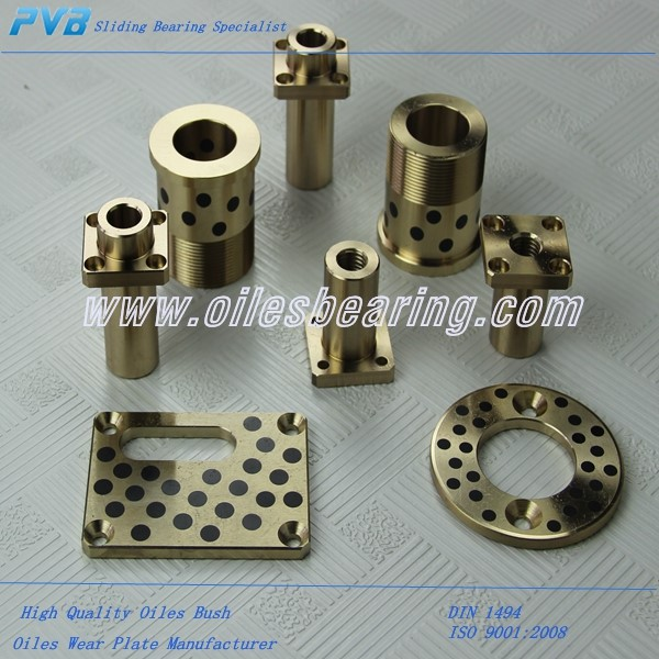 Oiles Bush Supplier,Oilless Guide Bushing,SPB-354435 Self Lubricating Oiles Bronze Bush