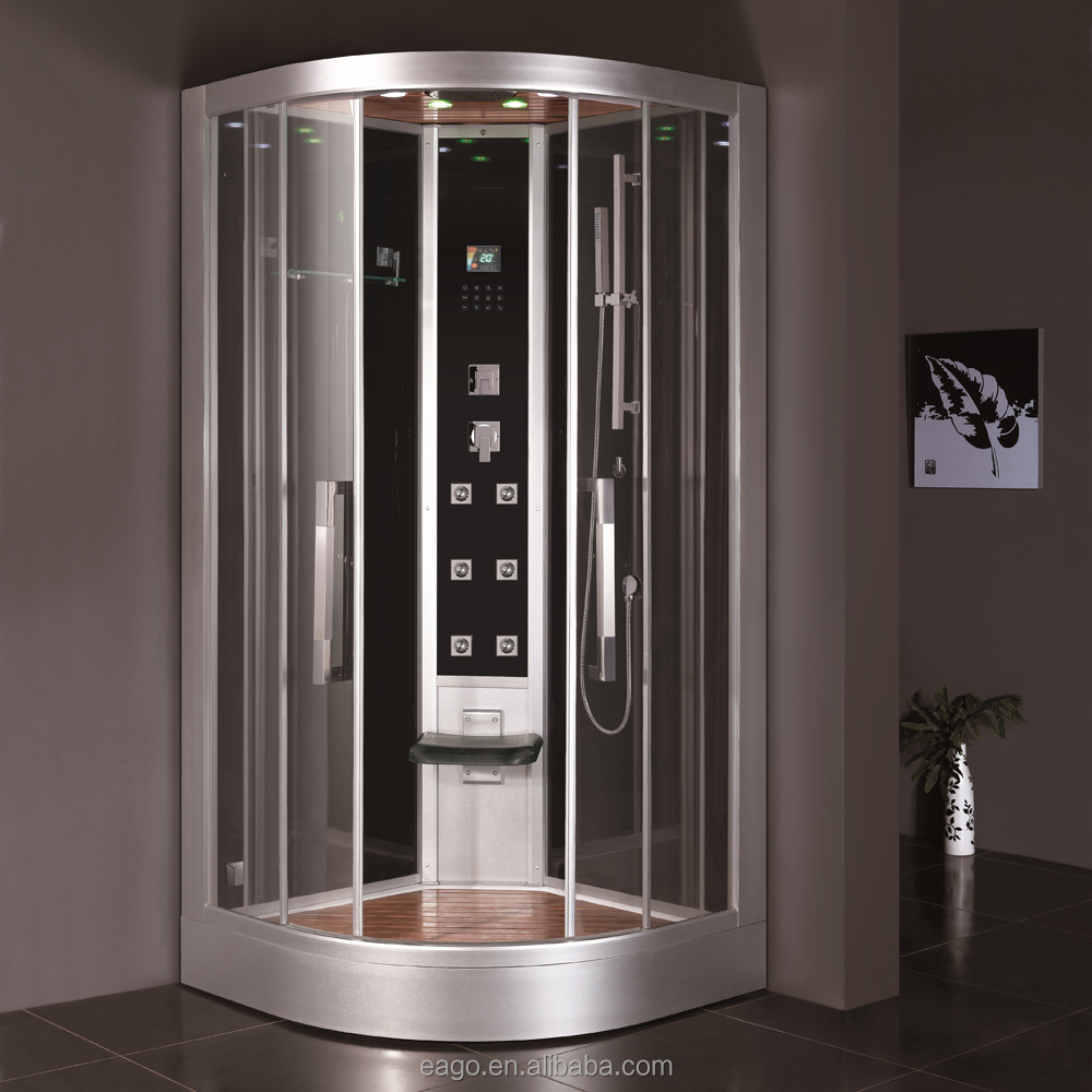 Compact Design Deluxe Glass Steam Shower Room (DZ963F8)
