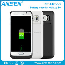 Cell Phone Battery Charger Portable Charger Battery Back Up Case For galaxy s6