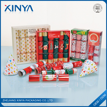 XINYA China Factory Wholesale Custom Best British Christmas Crackers Indoor Fireworks