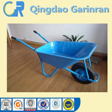 Chinese galvanized steel wheel barrow