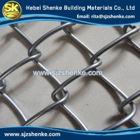 China manufacturer cheap galvanized 9 Gauge Chain Link Wire Mesh Fence