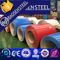 Prepainted/color coated steel coil / PPGI / PPGL color coated galvanized steel