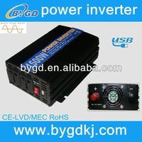 Dc to Ac convert 220v to 110v ac, power inverter solar Brazil socket 1500w/1.5kw (BY1500U)