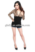 Sexy ladies blouse latest design high fashion womens clothing