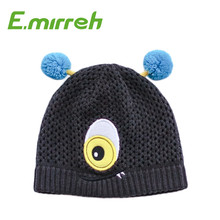 hot selling hand knitted winter knit hat warm beanie hats for children