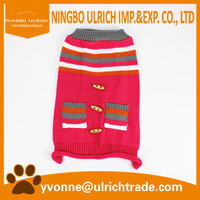M114 hot 100% acrylic knitted dog chromatic clothing