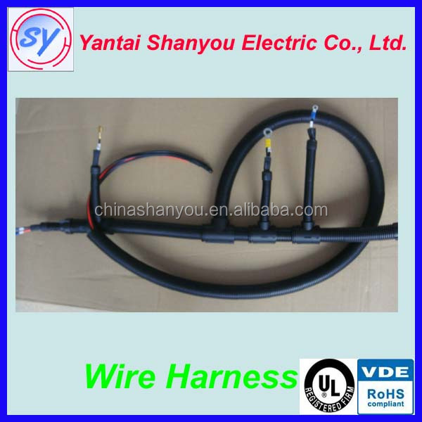 lpg cng rail injector wires harness/ automotive wiring harness