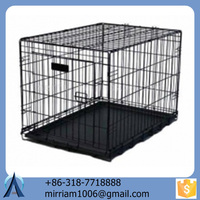 Anti-rust and Durable Practical Comfortable Beautiful Powder Coated or Galvanized Welded Dog Cages and Chain Link Dog Cages