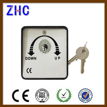 High Security Key operated push button switch for roller shutter door
