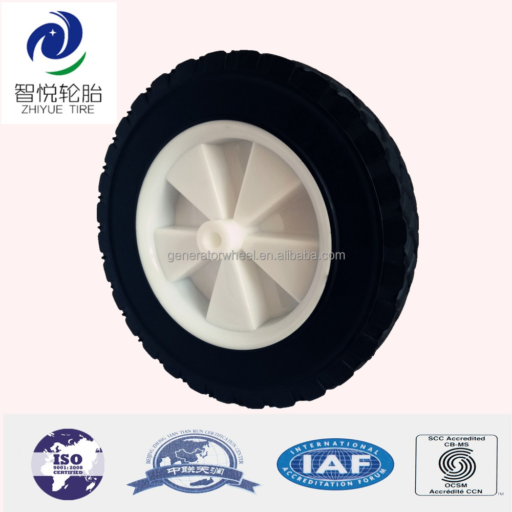 Stroller sand wheels rubber wheels 8 inch for beach cart