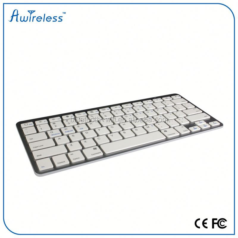 factory direct 7 inch bluetooth keyboard leather case with touch keyboard for promotion