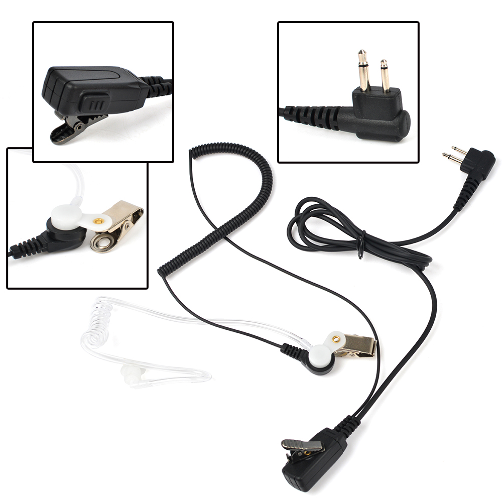 Good Price UV-5R Acoustic Clear Tube Earpiece TC-801