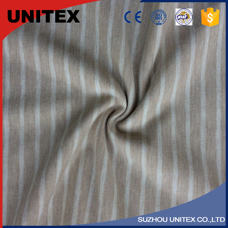 Practical Stock Two Tone Knitted Fabric