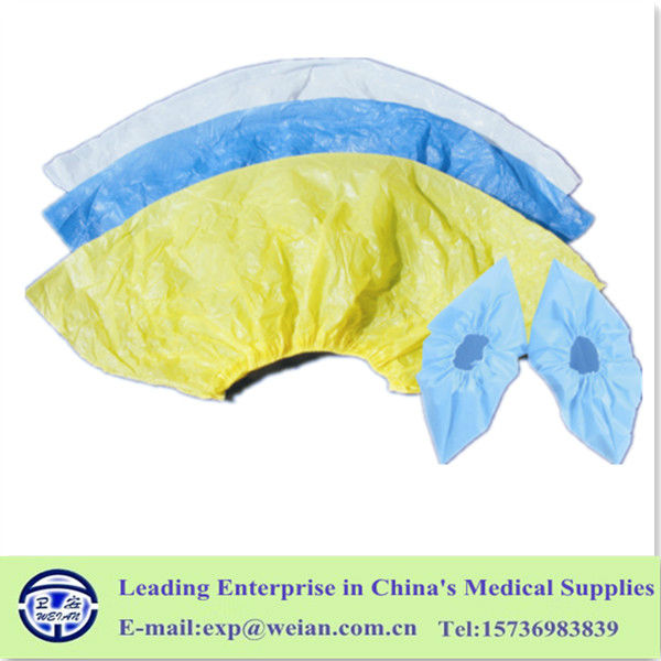2015 Most Popular Disposable Non Woven or PE antiskid and waterproof Shoe Covers