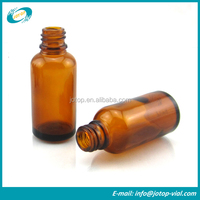 30ml Amber Glass Dropper Bottle Dispending With Screw Neck